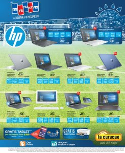 Promocion de computadoras portatiles HP en la curacao