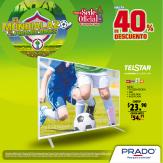 Televisor TELSTAR de 55 pulgadas y definicion 4K