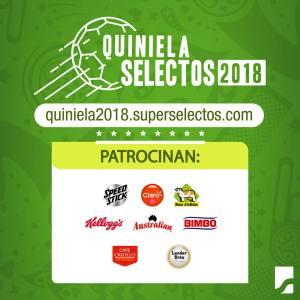 patrocinadores de la quiniela mundialista super selectos el salvador