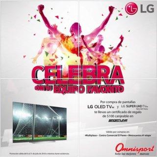 LG OLED TV 4K disponibles en omnisport