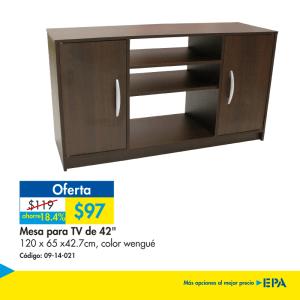 Muebles EPA - mesa para televisores