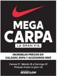 Visita la MEGA CARPA en centro comercial La Gran Via este finde