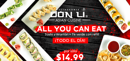 nueva sucursal restaurante DON LI bulevars del hipodromo