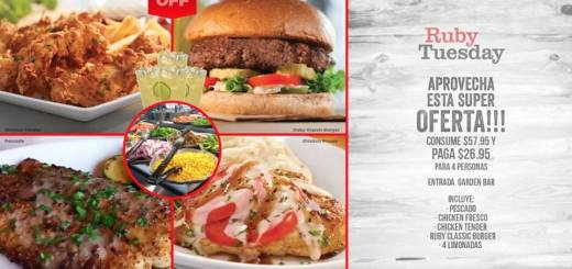promocion ruby tuesday el salvador cupon julio 2018