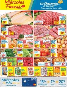La Despensa de Don Juan frescas ofertas de miercoles 08ago18