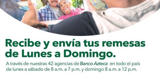 Servicios de remesas para el salvador banco azteca