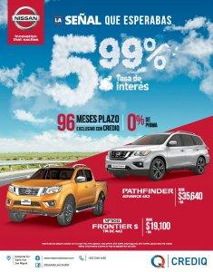 Comprar carro nuevo NISSAN pathfinder or FRONTIER credi Q el salvador