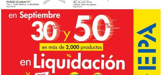 EPA liquidaciones en productos para el hogar - 17sep18
