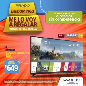 televisor 4k marca LG en ofertas prado
