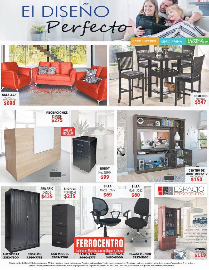 Espacios decorados con muebles de calidad FERROCENTRO sv