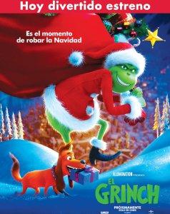 AHORA estreno de EL GRINCH the movie 2018