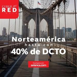 Avianca NORTE AMERICA Descuento black friday 2018