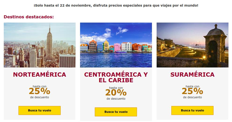 Destinos avianca ofertas black friday 2018
