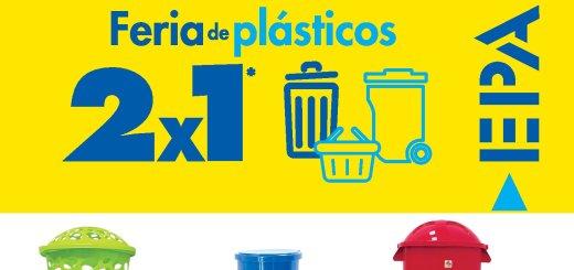 Feria de plastico 2x1 en ferreteria epa NOviembre 2018
