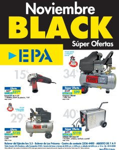 Ferreteria EPA Black Friday 2018 super ofertas disponibles