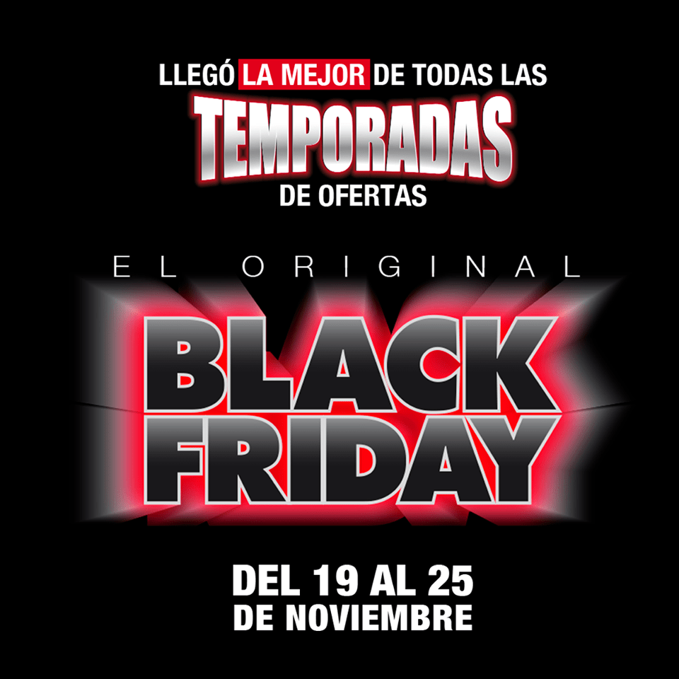 La Mejor temporada de ofertas LA CURACAO black friday 2018