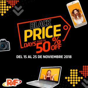 OFERTAS black friday 2018 tiendas raf sv