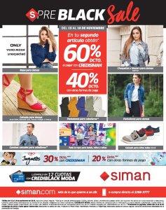 Ofertas Black Friday 2018 SIMAN preblack sale - 15nov18