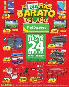 Ofertas EL DIA MAS BARATO DEL AÑO 2018 maxi despensa