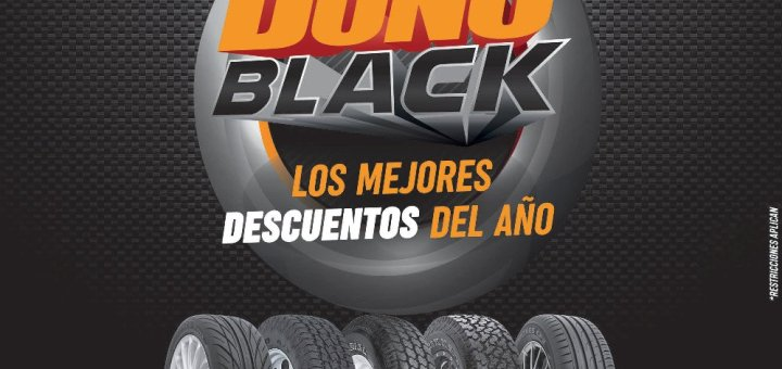 Ofertas black friday 2018 en llantas TOYO TIRES MAXXIS PRESA