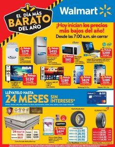 Promociones WALMART 2018 dia mas barato