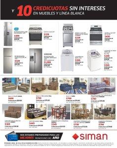 SIMAN Black Friday 2018 ofertas en electrodomesticos y muebles