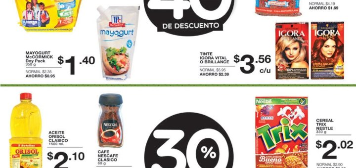 Super BLACK Weekend 2018 ofertas super selectos