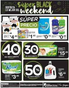 Super Selectos ofertas Black Weekend 2018