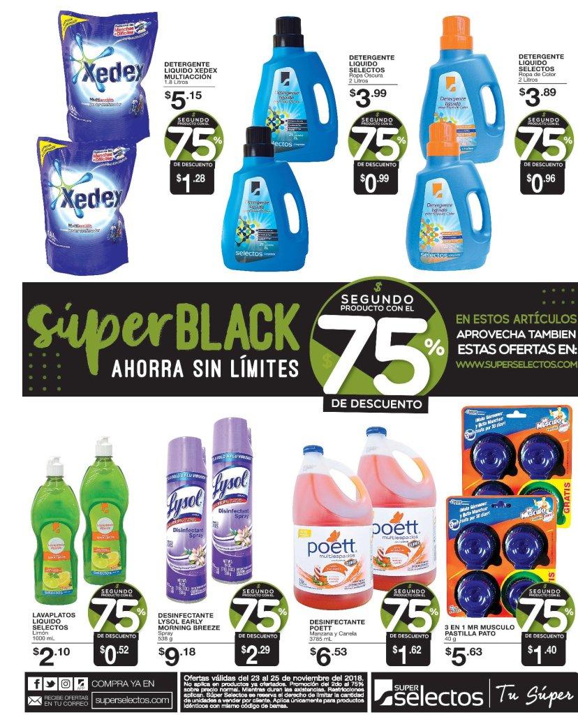 Super black 2018 de suprselectos hasta 75 off