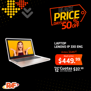 laptop lenovo black friday 2018 tiendas raf
