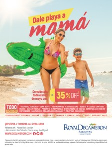 Royal Decameron mother's day 2019 deal