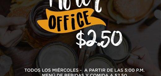 Afeter office PLAZA MALTA todos los miercoles