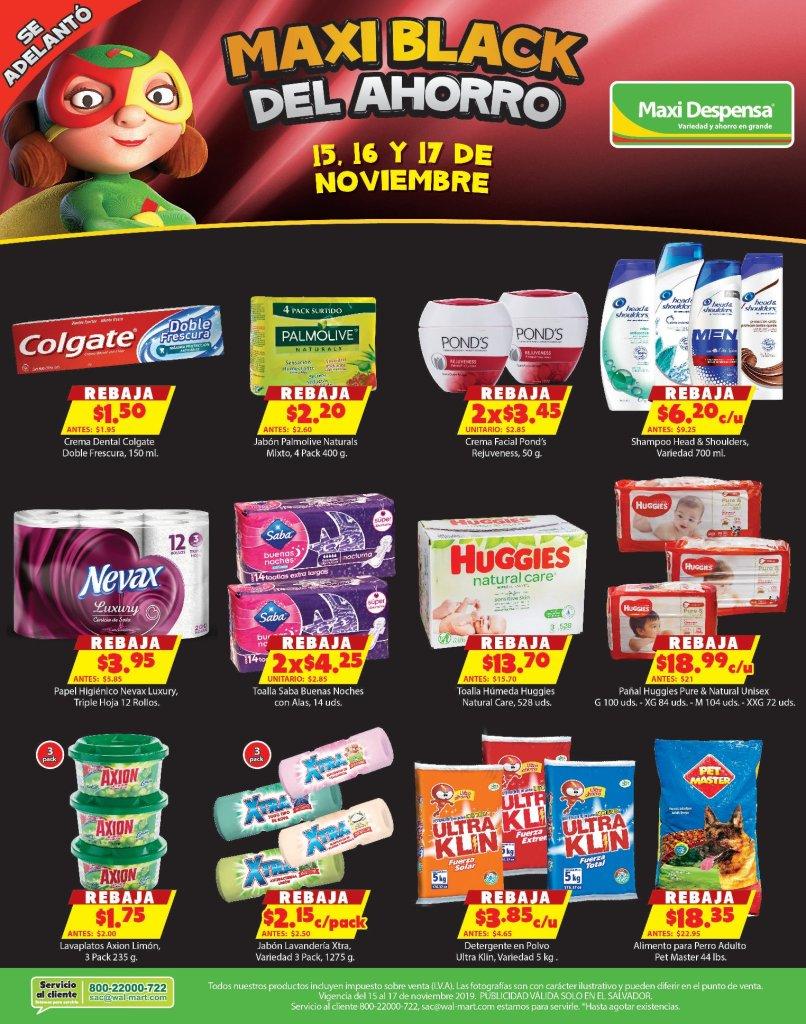 AHORRO blackfriday supermercado maxi despesan 15nov19
