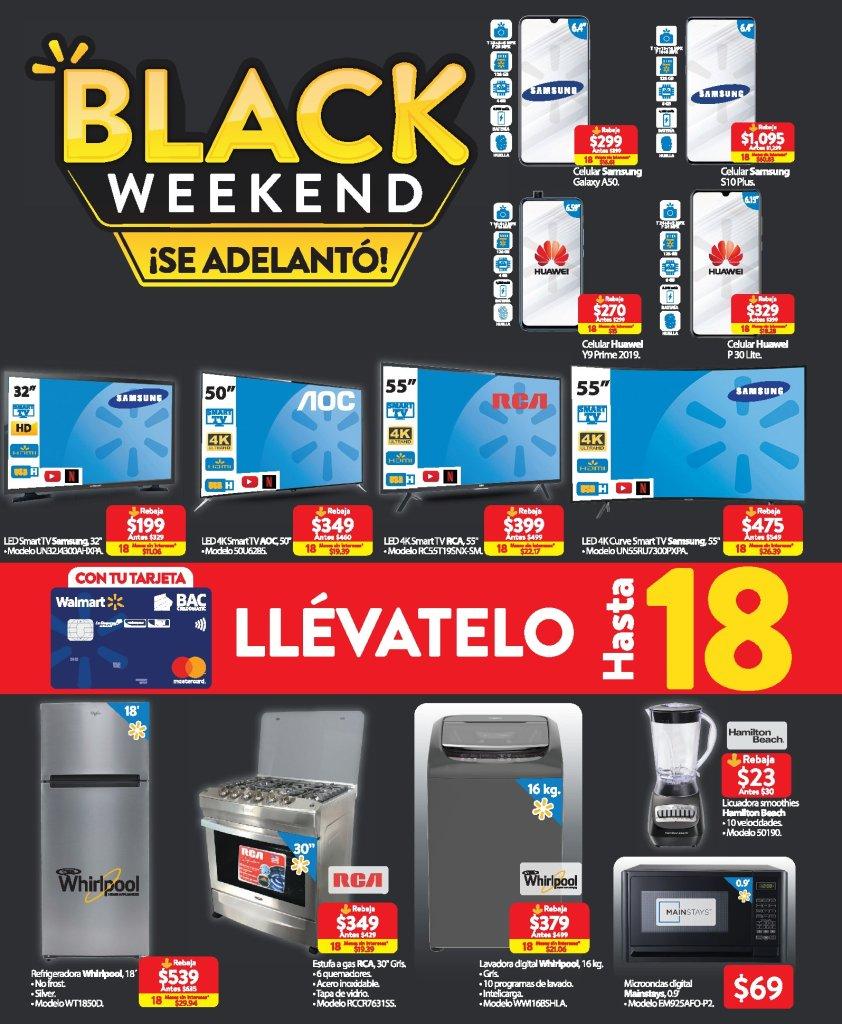 Catalogo black weekend 2019 walmart el salvador FREE