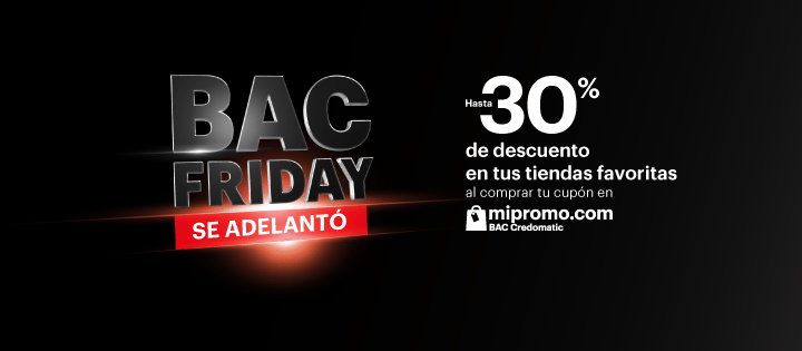 Como particpar en el black friday de BAC credomatic el salvador