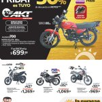 Descuento en MOTOS AKT black friday 2019 La Curacao - 23nov19