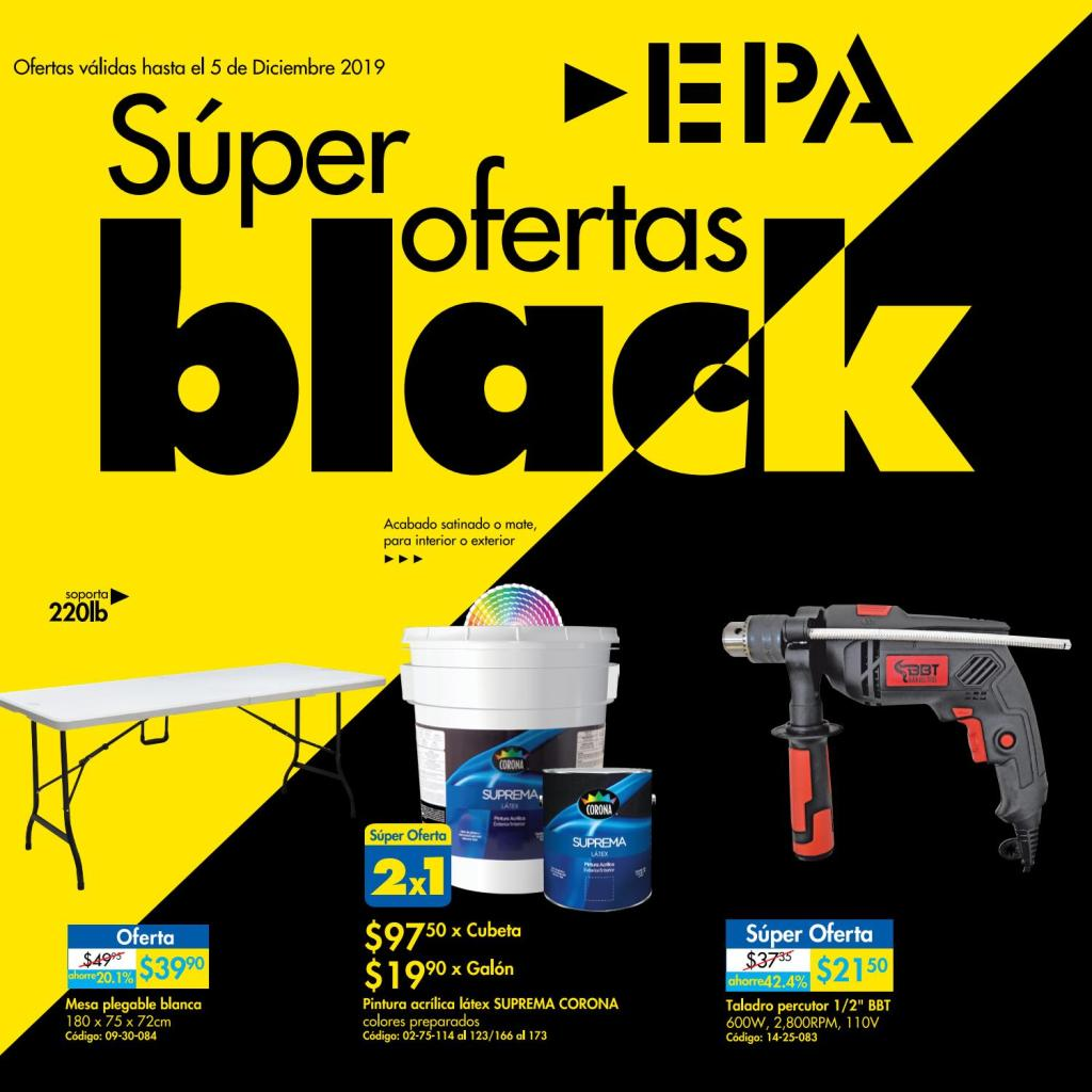 catalogo online EPA blackfriday 2019