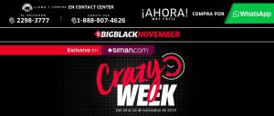 Siman BLACK 2019 crazy week