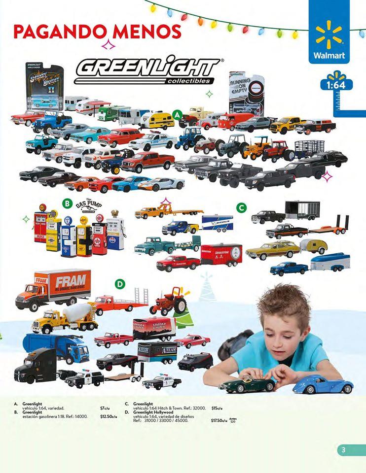 Carros GREEN LIGHT collection WALMART el salvador Navidad 2019