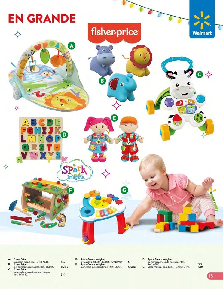 toys FISHER PRICE collection WALMART el salvador Navidad 2019
