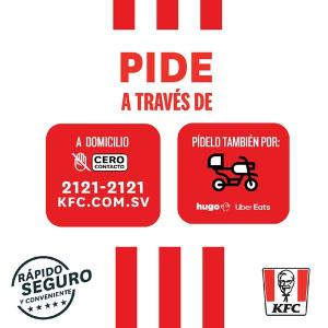 KFC combos para pedir a Domicilio #QuedateEnCasa