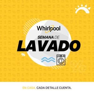 Ofertas Lavadoras WHIRPOOL (LaCuracao)