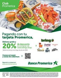 Promociones y Descuentos comida rapida Julio 2020