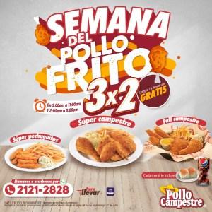 Promociones Pollo Campestre (Julio 2020)
