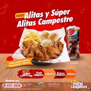 Promociones ALITAS de Pollo Campestre