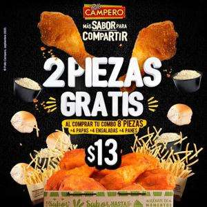 PROMOCION Combo familiar Pollo Campero ($13)