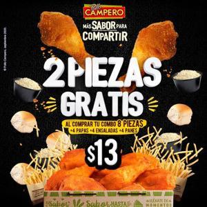 PROMOCION Combo familiar Pollo Campero ($13)