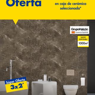 Ofertas 3x2 Caja de ceramica Ferreteria EPA octubre 2020