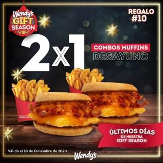 Promociones-navidad-2020-WENDYS-EL-salvador-mUffins