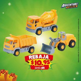 juguetes Caminiones de construccion el salvador